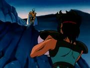 Shura encuentra a Aioros