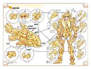 Schéma de l'Armure des Poissons
