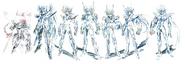 Design Premier des Armures de Saint Seiya Oméga