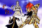Shijima salva a Atena del Patriarca