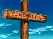 Esmeralda grave