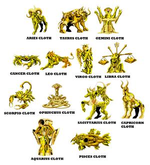 13 Gold Cloths