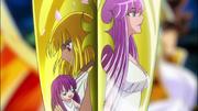 Pallas y Athena en la daga (Ω Opening 3)
