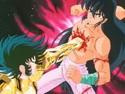 Shura vs Shiryu 2