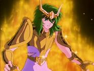 Shun en Armure d'Or d'Andromède