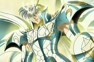 Shiryû portant l'Armure Divine du Dragon