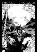 Mephistopheles Yōma torturado por Chronos