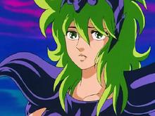 Shaina mostra seu rosto a Seiya