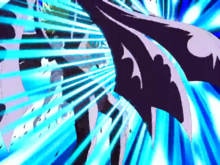 Radamanthys e Orphée são atingidos pelos Meteoros de Pégaso