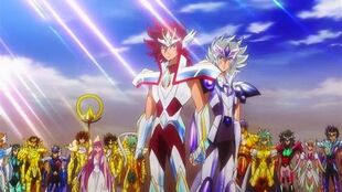 Os Cavaleiros de Atena - Série Ômega