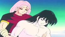 Mu salva Shiryu