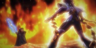 Ikki vs Aegaeon - 1º Duelo