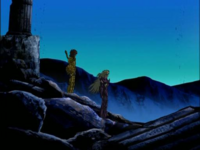 Shion e Dohko tem sua ultima conversa
