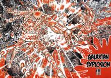 Ikki é pulverizado pela Explosão Galáctica