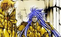 Sisifo e Aspros conversam sobre Hasgard