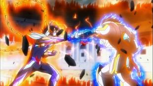 Ikki vs Aegaeon - 2º Confronto