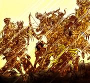 Ultima reunião dos Doze Cavaleiros Ouro secXVIII