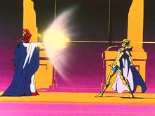 Saga usa o Satã Imperial em Aiolia