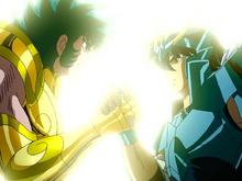 Shiryu se reencontra com Shura