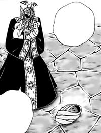 Shion encontra os três Gêmeos