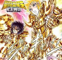 Shion e Dohko são promovidos a Cavaleiros de Ouro