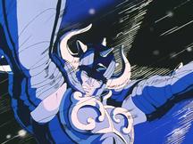 Aldebaran bloqueando o ataque de Seiya
