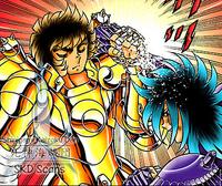Dohko impede o ataque de Suikyo