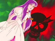 Saori é alvejada pela flecha disparada por Ptolemy de Flecha