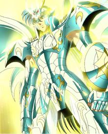 Shiryu traja a Armadura Divina de Dragão
