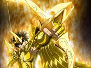 Aiolos prepara a sua flecha