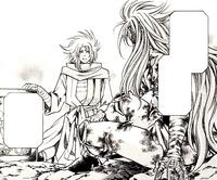 Shion conhece Defteros