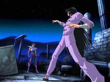 Ikki vs Shiryu