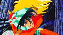 (Asgard) Shiryu vs Hyoga