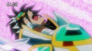 Titan derrotado por uma Simples Rajada de Cosmo lançado por Saturno