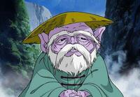 Dohko em sua vigília como Mestre Ancião