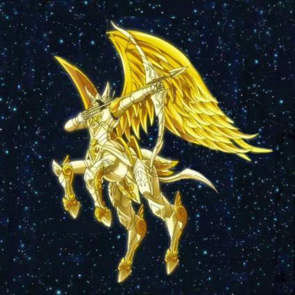 ARMADURA DE SAGITÁRIO - FORMATO DIVINO - SOUL OF GOLD