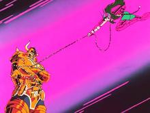 Shun combate Aldebaran de Touro