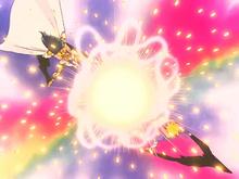 Camus e Hyoga disparam a Execução Aurora