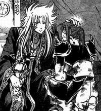 Teneo recebe Shion como Grande Mestre