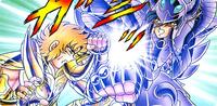 Shion vs Suikyo de Garuda