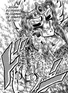 Ikki conta a Seiya a verdade