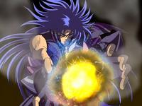 Saga contém o ataque de Aiolia