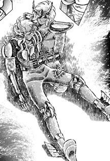 Shun eleva seu Cosmo para salvar Hyoga