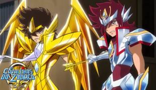 Seiya e Kouga