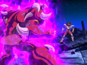 Giganto vs Seiya