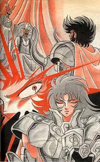 Shion Ares Shura e Saga (Verdade do Grande Mestre)