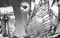 Aspros invade navio de Úrsula