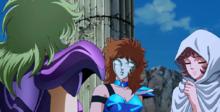 Marin apresenta Seika a Shaina
