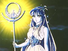 A Alma de Saori aparece para Shiryu