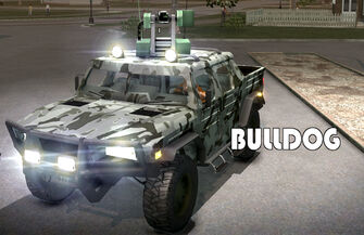 Bulldog - Military variant with logo